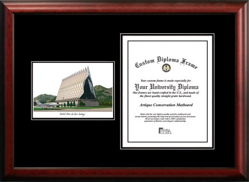 Air Force Falcons Diplomate Diploma Frame