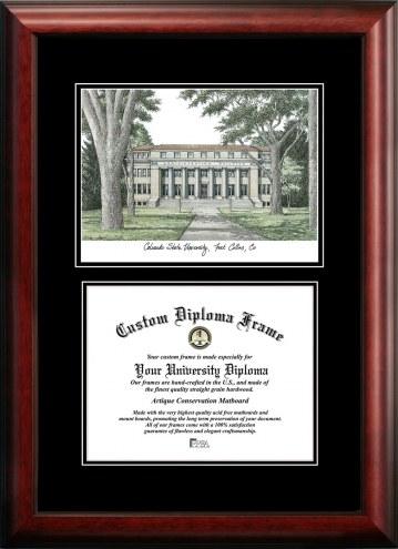 Colorado State Rams Diplomate Diploma Frame
