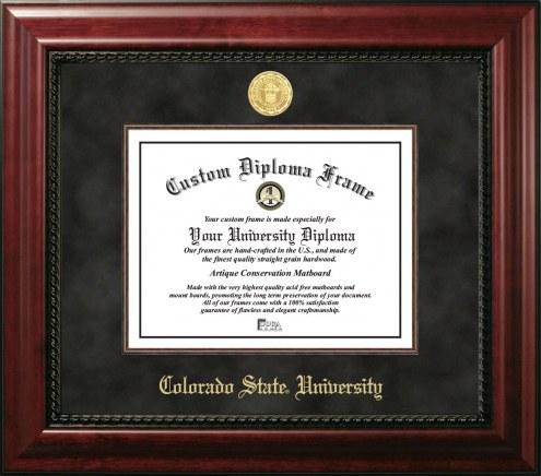 Colorado State Rams Executive Diploma Frame
