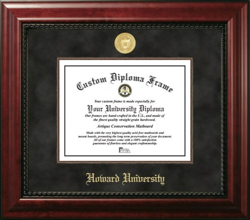 Howard Bison Executive Diploma Frame