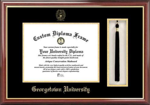 Georgetown Hoyas Diploma Frame & Tassel Box