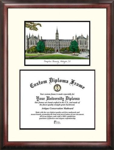 Georgetown Hoyas Scholar Diploma Frame