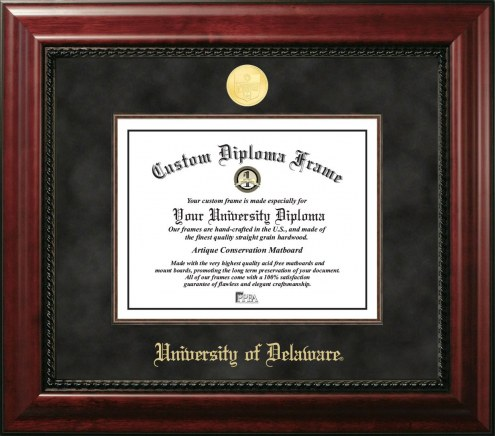 Delaware Blue Hens Executive Diploma Frame