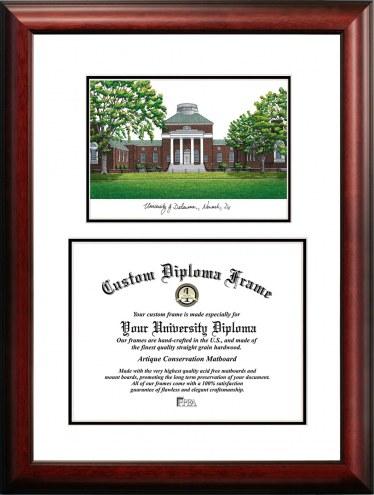 Delaware Blue Hens Scholar Diploma Frame