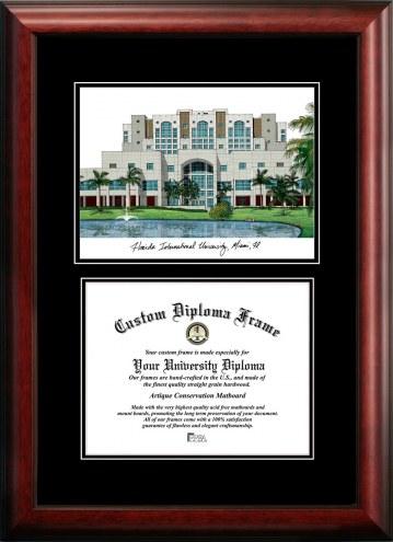 Florida International Golden Panthers Diplomate Diploma Frame