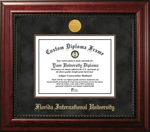 Florida International Golden Panthers Executive Diploma Frame