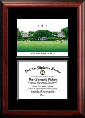 Florida Atlantic Owls Diplomate Diploma Frame