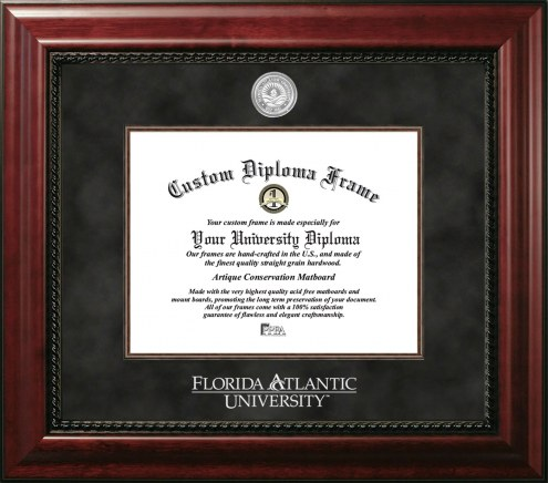 Florida Atlantic Owls Executive Diploma Frame
