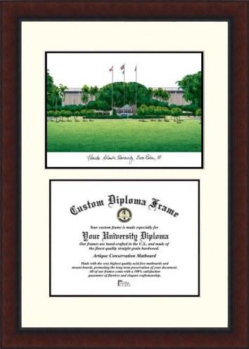 Florida Atlantic Owls Legacy Scholar Diploma Frame
