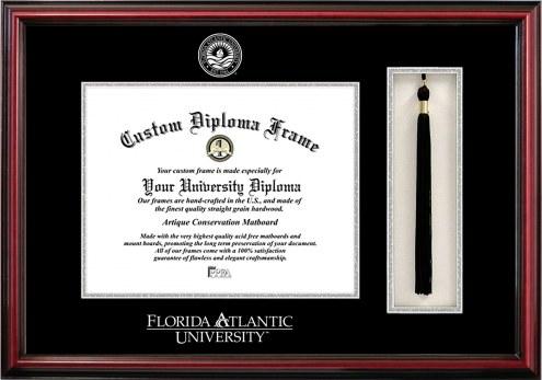 Florida Atlantic Owls Diploma Frame & Tassel Box
