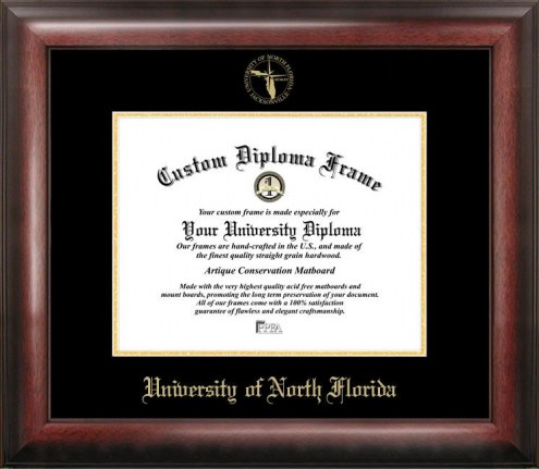 North Florida Ospreys Gold Embossed Diploma Frame