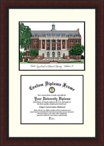 Florida A&M Rattlers Legacy Scholar Diploma Frame