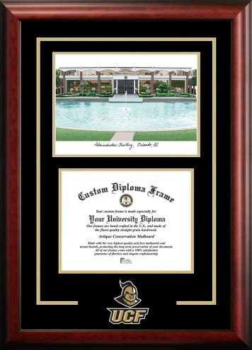 Central Florida Knights Spirit Graduate Diploma Frame