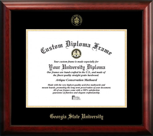 Georgia State Panthers Gold Embossed Diploma Frame