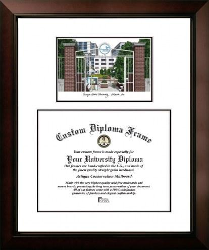 Georgia State Panthers Legacy Scholar Diploma Frame