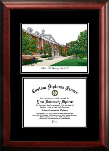 Illinois State Redbirds Diplomate Diploma Frame