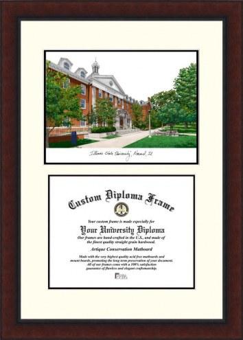 Illinois State Redbirds Legacy Scholar Diploma Frame