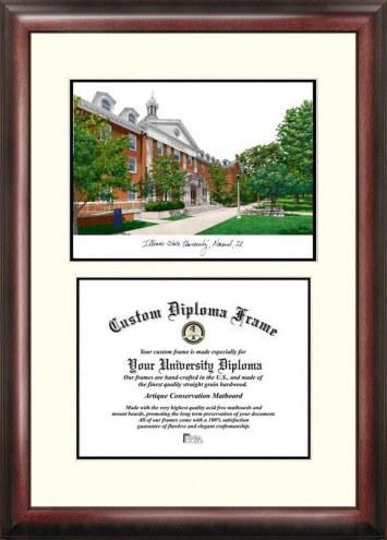 Illinois State Redbirds Scholar Diploma Frame