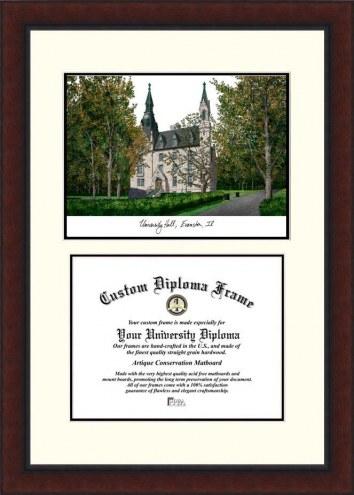 Northwestern Wildcats Legacy Scholar Diploma Frame