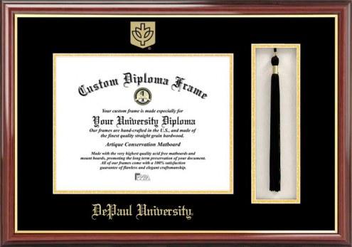 DePaul Blue Demons Diploma Frame & Tassel Box