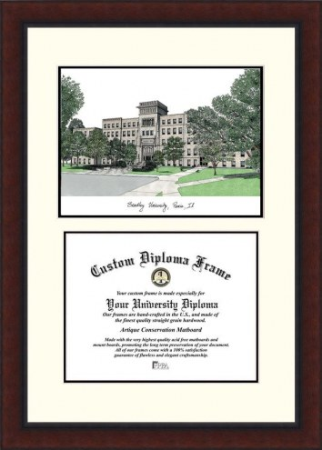 Bradley Braves Legacy Scholar Diploma Frame