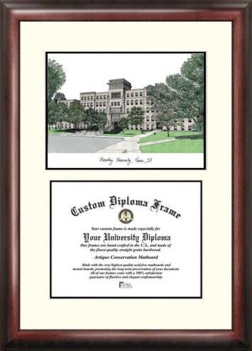Bradley Braves Scholar Diploma Frame