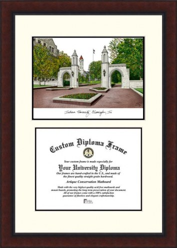 Indiana Hoosiers Legacy Scholar Diploma Frame