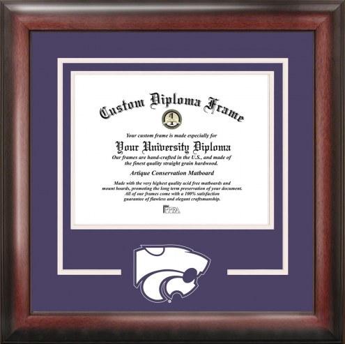 Kansas State Wildcats Spirit Diploma Frame