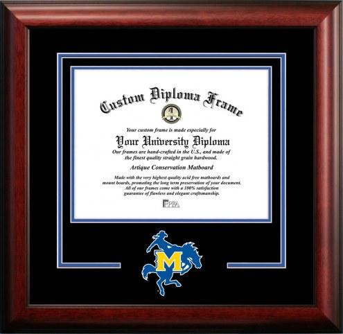 McNeese State Cowboys Spirit Diploma Frame