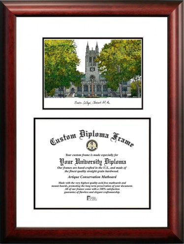 Boston College Eagles Scholar Diploma Frame