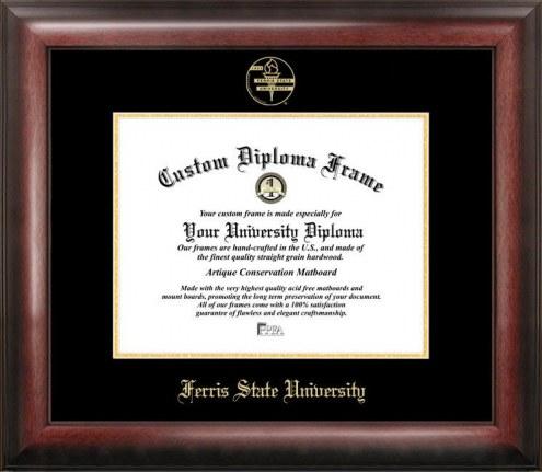 Ferris State Bulldogs Gold Embossed Diploma Frame