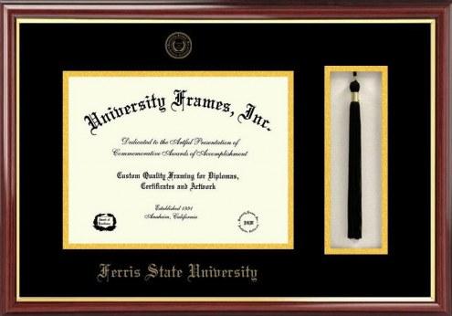 Ferris State Bulldogs Diploma Frame & Tassel Box