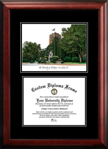 Michigan Wolverines Diplomate Diploma Frame
