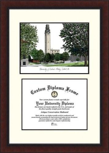 Detroit Mercy Titans Legacy Scholar Diploma Frame