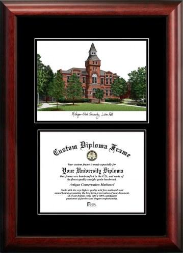 Michigan State Spartans Diplomate Diploma Frame
