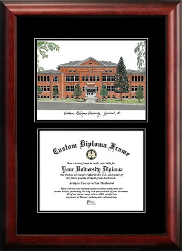 Eastern Michigan Eagles Diplomate Diploma Frame