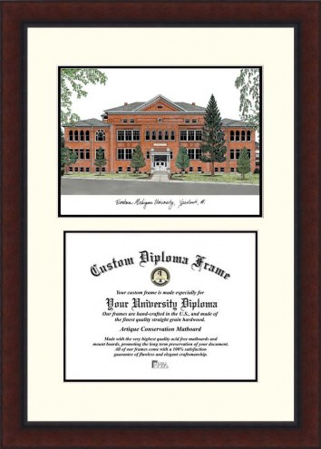 Eastern Michigan Eagles Legacy Scholar Diploma Frame