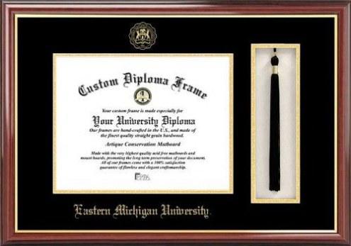 Eastern Michigan Eagles Diploma Frame & Tassel Box