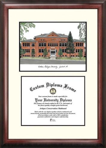 Eastern Michigan Eagles Scholar Diploma Frame