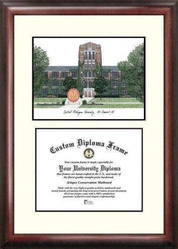 Central Michigan Chippewas Scholar Diploma Frame