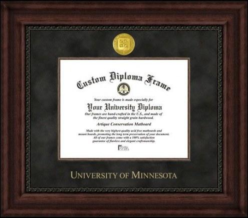 Minnesota Golden Gophers Executive Diploma Frame