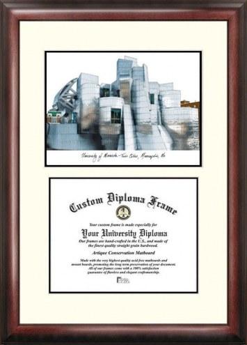 Minnesota Golden Gophers Scholar Diploma Frame