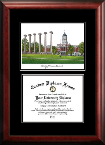 Missouri Tigers Diplomate Diploma Frame