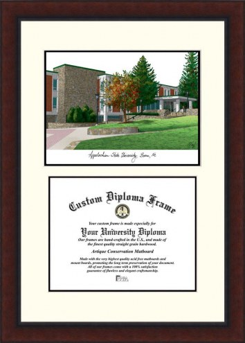Appalachian State Mountaineers Legacy Scholar Diploma Frame