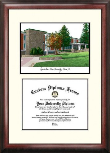 Appalachian State Mountaineers Scholar Diploma Frame