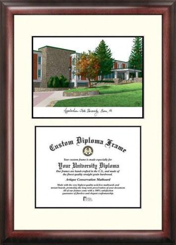 Appalachian State Mountaineers Scholar Diploma Frame