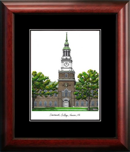 Dartmouth Big Green Campus Images Lithograph