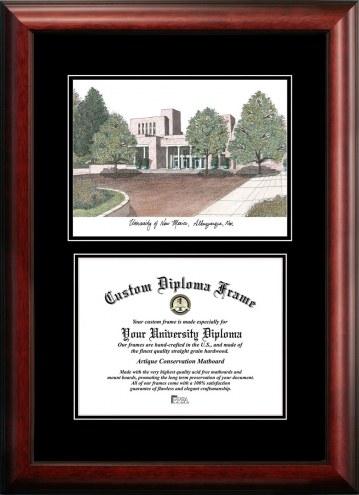 New Mexico Lobos Diplomate Diploma Frame