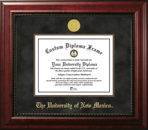 New Mexico Lobos Executive Diploma Frame