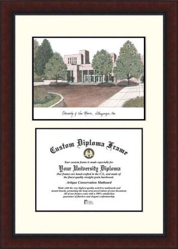 New Mexico Lobos Legacy Scholar Diploma Frame